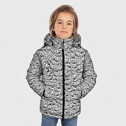 Куртка зимняя для мальчика Мегатролль цвета 3D-черный — фото 2
