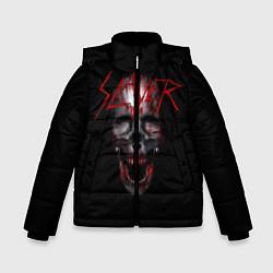 Детская зимняя куртка для мальчика с принтом Slayer: Wild Skull, цвет: 3D-черный, артикул: 10119943706063 — фото 1