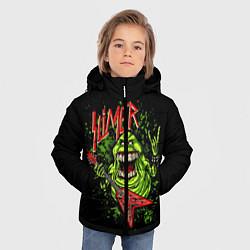 Куртка зимняя для мальчика Slayer Slimer цвета 3D-черный — фото 2