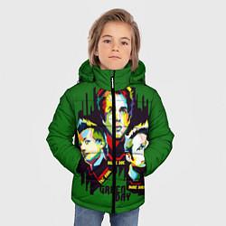 Куртка зимняя для мальчика Green Day: Trio цвета 3D-черный — фото 2