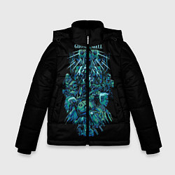 Куртка зимняя для мальчика Ghost In The Shell 7 цвета 3D-черный — фото 1