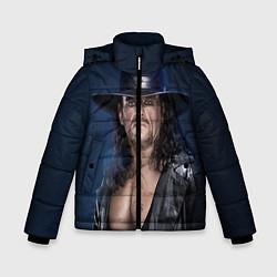 Куртка зимняя для мальчика Гробовщик 3 цвета 3D-черный — фото 1
