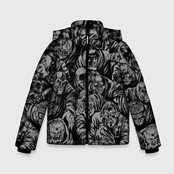 Куртка зимняя для мальчика Zombie rush цвета 3D-черный — фото 1