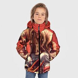 Куртка зимняя для мальчика Dead island 5 цвета 3D-черный — фото 2