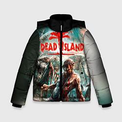 Куртка зимняя для мальчика Dead Island цвета 3D-черный — фото 1