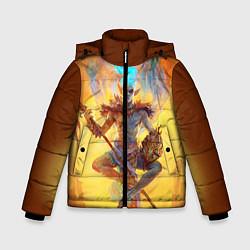 Куртка зимняя для мальчика Вивек цвета 3D-черный — фото 1