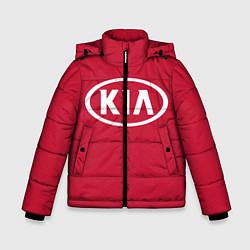 Куртка зимняя для мальчика KIA цвета 3D-черный — фото 1