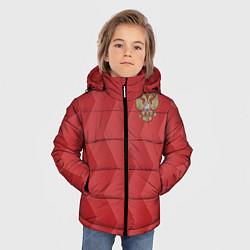 Куртка зимняя для мальчика Сборная России цвета 3D-черный — фото 2