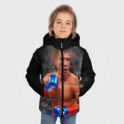 Куртка зимняя для мальчика Геннадий Головкин - фото 2