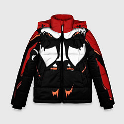 Детская зимняя куртка для мальчика с принтом Metalocalypse: Dethklok Face, цвет: 3D-черный, артикул: 10134388506063 — фото 1