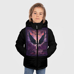 Куртка зимняя для мальчика Dethklok: Angel цвета 3D-черный — фото 2