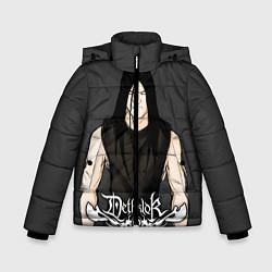 Куртка зимняя для мальчика Dethklok Man цвета 3D-черный — фото 1