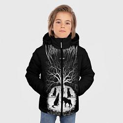 Куртка зимняя для мальчика Wolves in the Throne Room цвета 3D-черный — фото 2