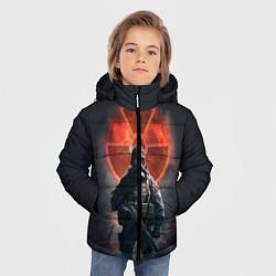 Детская зимняя куртка для мальчика с принтом STALKER: Red Sun, цвет: 3D-черный, артикул: 10135204506063 — фото 2