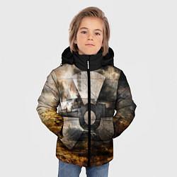 Куртка зимняя для мальчика STALKER: Nuclear цвета 3D-черный — фото 2