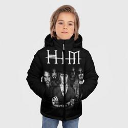 Куртка зимняя для мальчика HIM Rock цвета 3D-черный — фото 2