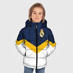 Куртка зимняя для мальчика Real Madrid FC: Sport цвета 3D-черный — фото 2
