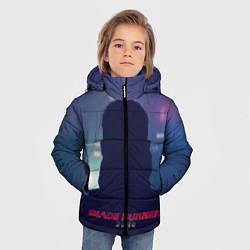 Куртка зимняя для мальчика BR 2049: Shadow man цвета 3D-черный — фото 2