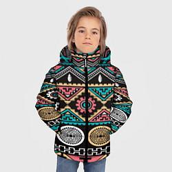 Куртка зимняя для мальчика Этника цвета 3D-черный — фото 2