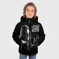 Детская зимняя куртка для мальчика с принтом Оззи Осборн, цвет: 3D-черный, артикул: 10138075906063 — фото 2