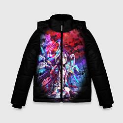 Куртка зимняя для мальчика No Game No Life Zero цвета 3D-черный — фото 1
