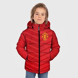 Куртка зимняя для мальчика FC Manchester United: Reverse цвета 3D-черный — фото 2