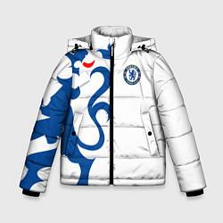 Куртка зимняя для мальчика FC Chelsea: White Lion цвета 3D-черный — фото 1