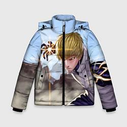 Куртка зимняя для мальчика Киборг цвета 3D-черный — фото 1