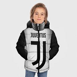 Куртка зимняя для мальчика FC Juventus: Silver Original цвета 3D-черный — фото 2