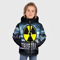 Куртка зимняя для мальчика S.T.A.L.K.E.R: Ильдар цвета 3D-черный — фото 2