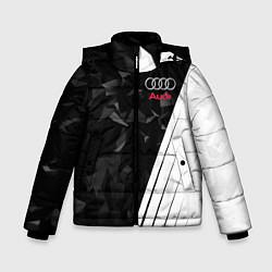 Куртка зимняя для мальчика Audi: Black Poly цвета 3D-черный — фото 1