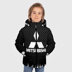 Куртка зимняя для мальчика Mitsubishi: Black Side цвета 3D-черный — фото 2
