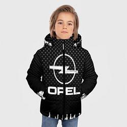 Куртка зимняя для мальчика Opel: Black Side цвета 3D-черный — фото 2