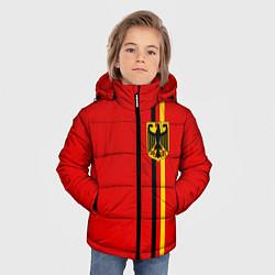 Куртка зимняя для мальчика Германия цвета 3D-черный — фото 2