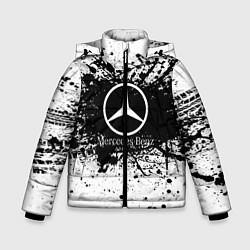 Куртка зимняя для мальчика Mercedes-Benz: Black Spray цвета 3D-черный — фото 1