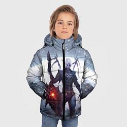 Детская зимняя куртка для мальчика с принтом Dark Knight, цвет: 3D-черный, артикул: 10147779106063 — фото 2