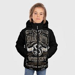 Куртка зимняя для мальчика Snake Bite цвета 3D-черный — фото 2
