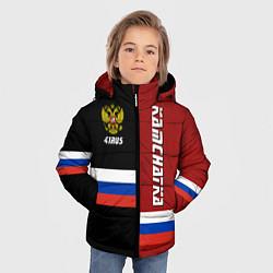 Куртка зимняя для мальчика Kamchatka, Russia цвета 3D-черный — фото 2
