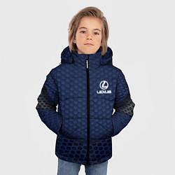 Куртка зимняя для мальчика Lexus: Sport Motors цвета 3D-черный — фото 2