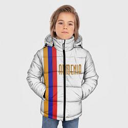 Куртка зимняя для мальчика Armenia Line цвета 3D-черный — фото 2