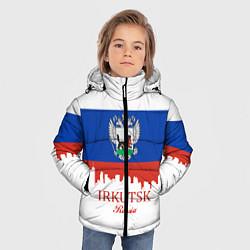 Куртка зимняя для мальчика Irkutsk: Russia цвета 3D-черный — фото 2