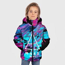 Детская зимняя куртка для мальчика с принтом 30 STM: Neon Colours, цвет: 3D-черный, артикул: 10150658506063 — фото 2