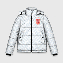 Куртка зимняя для мальчика Сборная Испании: Гостевая ЧМ-2018 цвета 3D-черный — фото 1