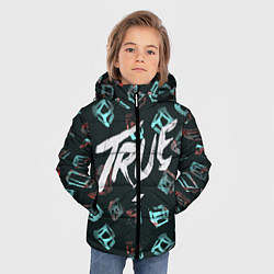 Куртка зимняя для мальчика Avicii: True цвета 3D-черный — фото 2