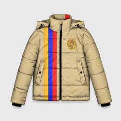 Куртка зимняя для мальчика Armenia Style цвета 3D-черный — фото 1