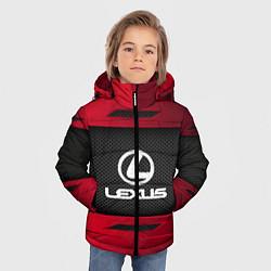 Куртка зимняя для мальчика Lexus Sport цвета 3D-черный — фото 2