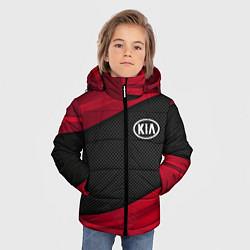 Куртка зимняя для мальчика Kia: Red Sport цвета 3D-черный — фото 2