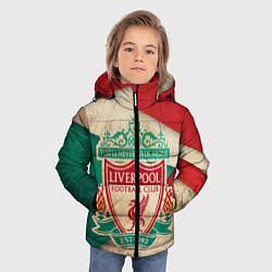 Куртка зимняя для мальчика FC Liverpool: Old Style цвета 3D-черный — фото 2
