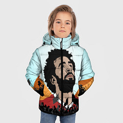 Куртка зимняя для мальчика Salah: Egypt King цвета 3D-черный — фото 2