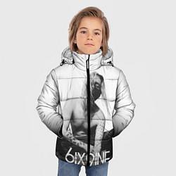 Куртка зимняя для мальчика 6IX9INE цвета 3D-черный — фото 2